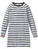Schiesser Mädchen Sleepshirt 1/1 Nachthemd, Grau (Grau-Mel. 202), (Herstellergröße: 152)