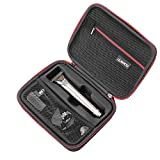 Hard Case for Wahl Clipper Stainless Steel Lithium Ion Plus Beard Trimmer Hair Clippers Shavers 9818 and Wahl Stainless Steel Lithium Ion 2.0+ Slate Beard Trimmer for Men by RLSOCO