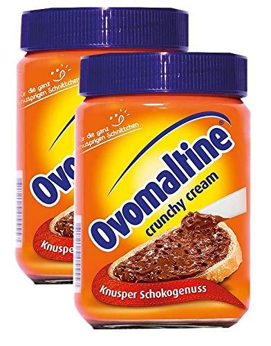 Ovomaltine Crunchy Cream, Brotaufstrich - 380g  - 2x
