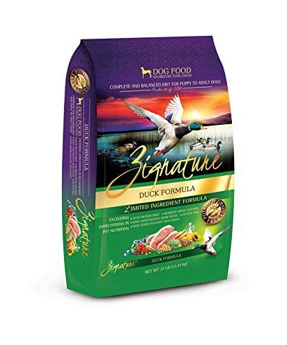 Zignature Duck Formula Dog Food