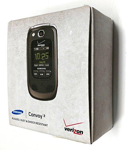 Verizon Samsung Convoy U640 No Contract Military-Spec Rugged 3G MP3 Phone
