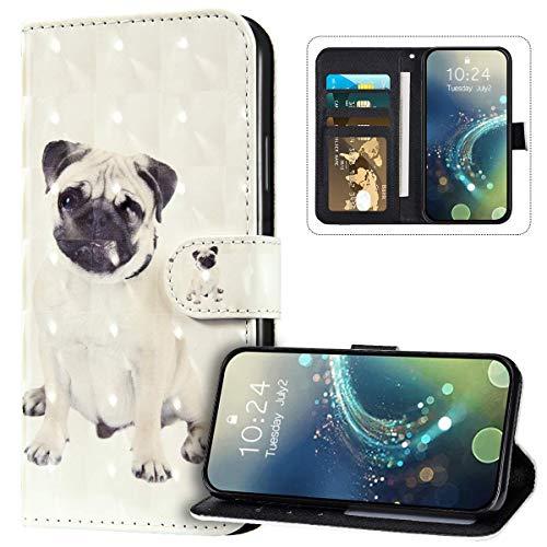 JAWSEU Funda Billetera Compatible con Galaxy M30, Carcasa de Suave PU Cuero...