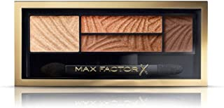 Max Factor Eyeshadow Palette Smokey Eye Drama Kit, 1.8 g, Number 3, Sumptuous Gold