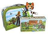 Edition A. Trötsch Geschenkset Pettersson und Findus - Spielzeugkoffer/Reisekoffer: Kinderkoffer,...