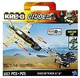 Kre-O G.I. Joe Ghoststriker X-16 with Captain Ace and Cobra Trooper Kreons