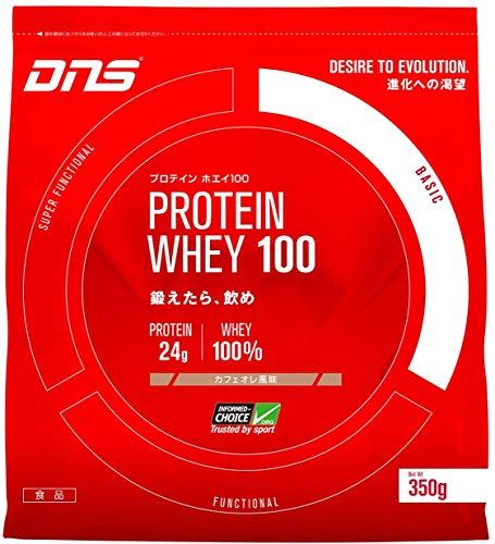 スマートマットライト DNS プロテイン ホエイ100 カフェオレ風味 1050g(約30回分) たんぱく質 筋トレ