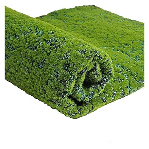 Gazon Artificiel en Mousse de Coton Perlé Faux Gazon Végétal Vert Facile À Installer Aucun Entretien Fournitures Décoration Salon Mur Jardin Terrasse ASPZQ (Color : B, Size : 1x1m)