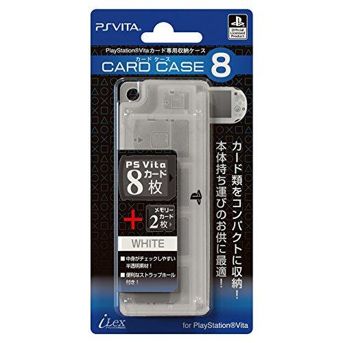 【PlayStationオフィシャルライセンス商品】PSVitaカード専用収納ケース『カードケース8 (ホワイト) 』for PlayStation Vita