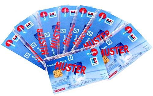Cases voor bankpassen 20 stuks -K&B distributeur identiteitskaarten beschermhoezen buigzaam hoesje kaartenhoezen 784