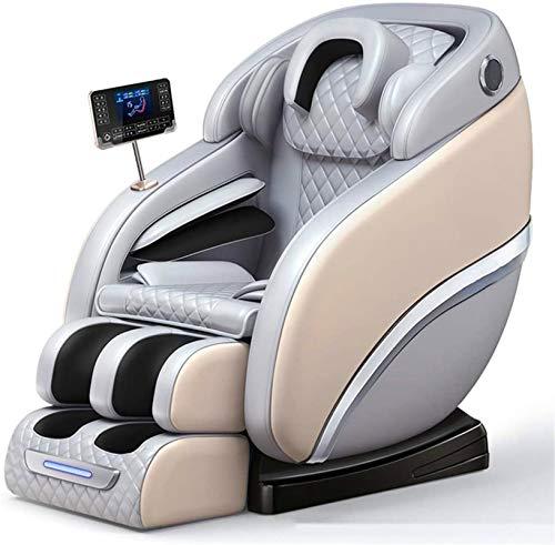 Sillón de masaje Masaje, Sillón de masaje automático de la gravedad cero Cápsula espacial New automática multifuncional Sofá for el hogar Shiatsu reclinable con pantalla táctil LCD ,Multifunción Masaj