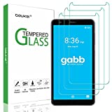 (3 Pack) Beukei Screen Protector Compatible for ZTE Gabb Z2 Screen Protector Tempered Glass,(5.45 inch) 9H Hardness, Anti Scratch, Bubble Free