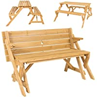 Best Choice Products 2-in-1 Outdoor Interchangeable Picnic Table