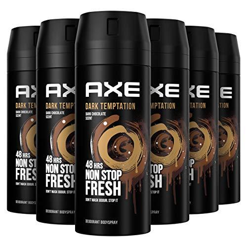AXE Deodorant Bodyspray Dark Temptation - 6 x 150ml