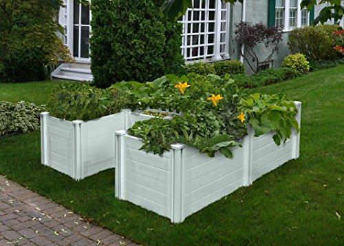 Vita VT17107 6x6 Composting Raised Garden Bed