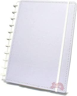 Caderno Grande Tons Pastéis Lilás com 80 Folhas Caderno Inteligente