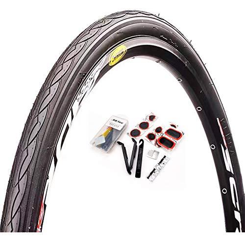 DUXIUYING K1029 26 * 1.95,27.5 * 1.95 Neumático 1 Pieza para Bicicleta de Carretera de montaña MTB Mud Dirt Offroad Bike, con Herramienta de reparación de neumáticos,20 * 13/8