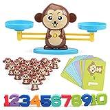 Kitchnexus Báscula mono, juguete educativo, herramienta de matemática, regalo ideal para niños preescolares