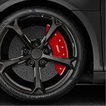 Upgrade Your Auto Red Caliper Covers Set of 4 Engraved 'MGP/MGP' for 2017-2019 Tesla 3