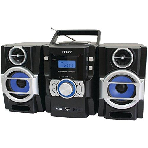 NAXA Electronics NPB-429 Portable MP3/CD Player with PLL FM Radio