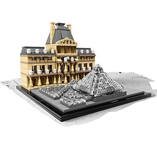 LEGO Juego de Construcción Architecture Louvre