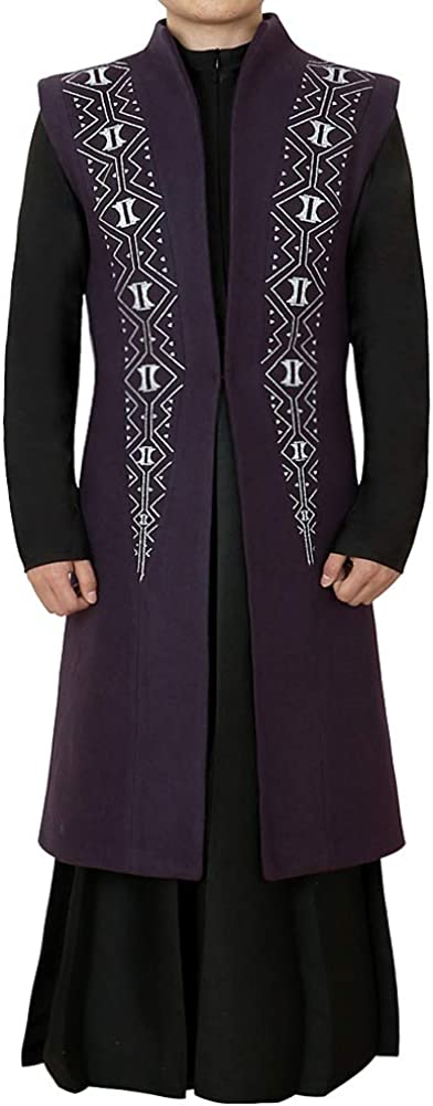 CG Ranking Max 50% OFF TOP5 Costume Men's Black T'Challa Purple Tuxedo Outfit Panther Cos