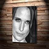 ANDIE MACDOWELL - Canvas Print (LARGE A3 - Signed by the Artist) #js001