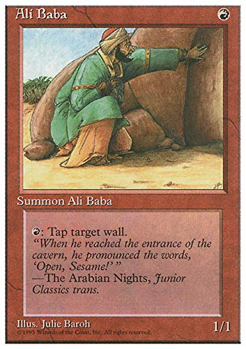 Magic: the Gathering - Ali Baba - Fourth Edition by Magic: the Gathering