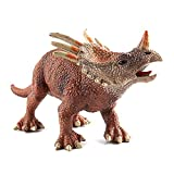 "Large Dinosaur Figure Toys Styracosaurus 13"", Plastic Realistic Dinosaur Figurine Party Favor Desktop Decor Educational Toys for Kids Children"