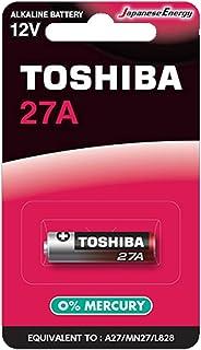 بطارية قلوية 23A من توشيبا 27A BP-1C، 12 فولت - قطعة واحدة