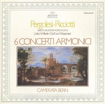 Wassenaer: 6 Concerti Armonici (attrib. Pergolesi)