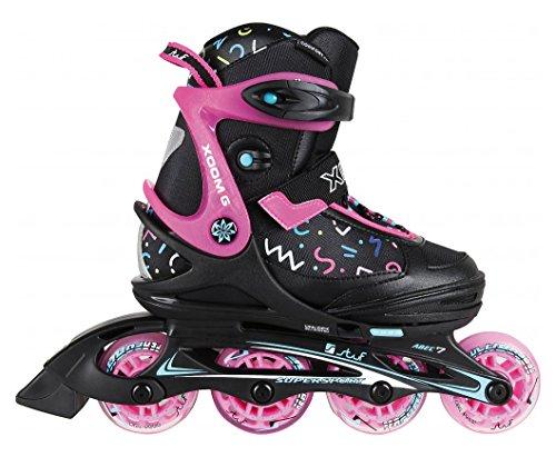 Stuf XOOM 2 Girl Inline Skate 2018 Black/pink/Black, 32-35