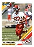 2019 Donruss Football #280 Juan Thornhill Kansas City Chiefs Rookie Card RC. rookie card picture