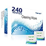 Best Eyeglass Cleaners - Lens Cleaning Wipes 240 Pre-moistened Glasses Cleaner Individually Review