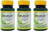 MigreLief Original Formula Triple Therapy with Puracol, 60 Count (Pack of 3) …