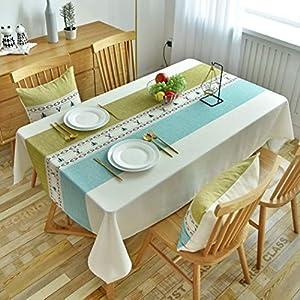テーブルクロス 北欧 撥水加工 汚れ防止 カラー 130*220 テーブルカバー 長方形 お手入れ簡単 テーブルマット インテリア ティーテーブル クロス ポリエステル 正方形 ファッション ヨーロッパ 田園風 食卓カバー シンプル
