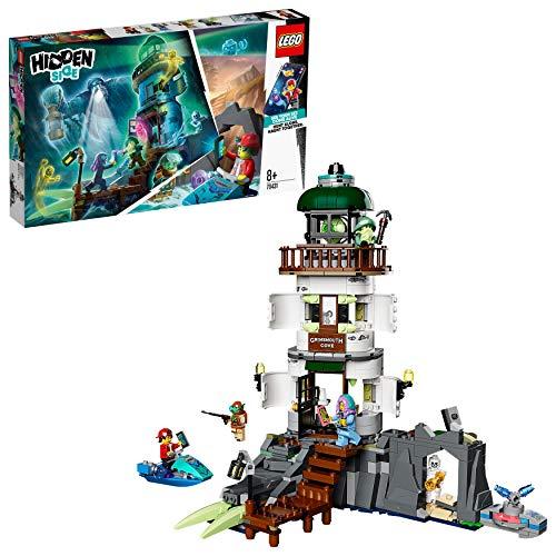 LEGO HiddenSide IlFarodelleTenebre, App per Giochi AR, Playset Multigiocatore Interattivo a Realtà Aumentata per iPhone/Android, 70431
