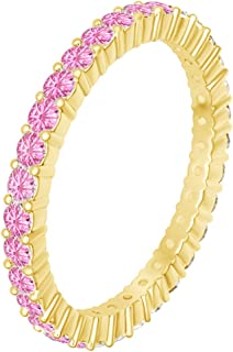 tourmaline eternity band
