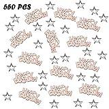 Confetti Happy Birthday,Confeti Lentejuelas,Confeti Bolsa,Confeti Mesa,Confeti de Estrellas,Confeti de Papel,Confeti Decoracion,para Decoración Tabla Fiesta