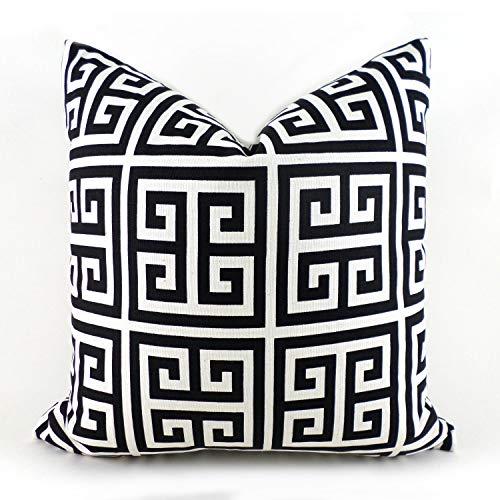 Black Pillow Covers 18 x 18 inch 45 x 45cm Decorative Pillows Pillow Inserts Best Pillow Floor Pillow Euro Pillows Bedding Lumbar Towers Black and White
