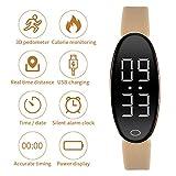 RCRuning-EU Schrittzähler Fitness Armband Aktivitätstracker Schrittzähler Kalorienzähler Ohne Bluetooth für