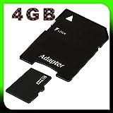 tomaxx micro SDHC Speicherkarte 4GB Class 6 Kompatibel für BlackBerry DTEK50