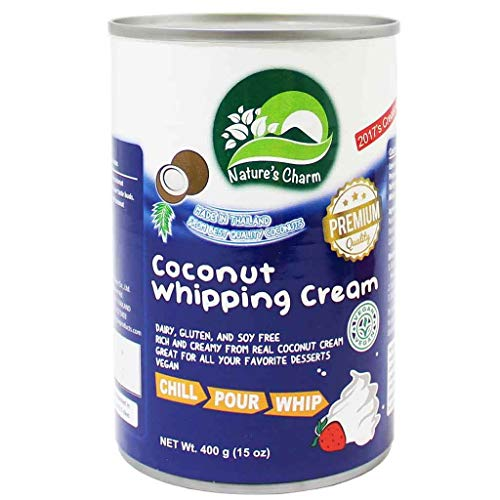 Natures Charm   Coconut Whipping Cream   5 x 400g
