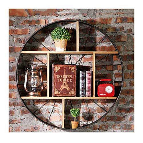 TB-plank, retro industriële wind muur decoratie plank creatieve woonkamer bar eetkamer muur zachte decoratie muur hanger opslag rack