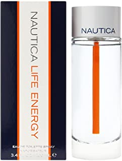Nautica Life Energy Eau de Toilette Spray for Men, 3.4 Ounce