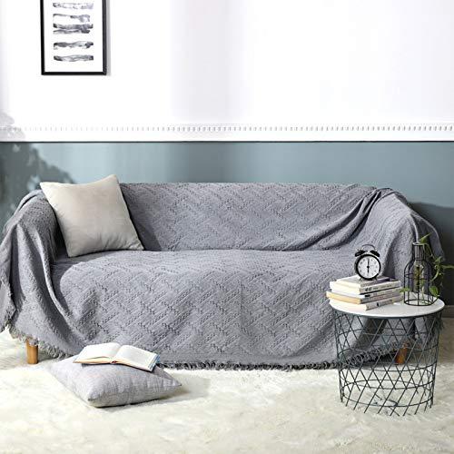 Colcha multiusos / Plaid 130 x 180 cm - Se puede utilizar como manta de sofá y también como colcha.