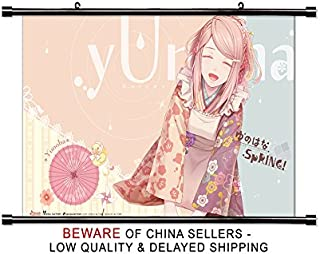 Yunohana Spring Anime Fabric Wall Scroll Poster (32 x 20) Inches