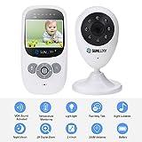 Sunluxy® - Monitor de bebé LCD a color,...