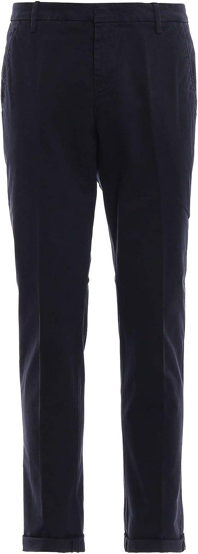 DONDUP Men's UP235GS0036PTDDU897 blueee Cotton Pants