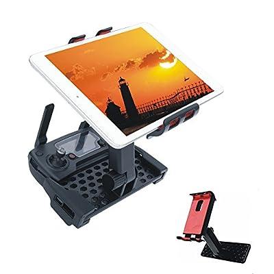 Crazepony-UK 4-12 Inch Monitor Holder Extension Adjustable Tablet Bracket Phone Mount for DJI Mavic Pro Remote from Crazepony-UK