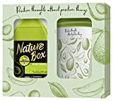 Nature Box Nature Box Geschenkset Avocado Duschgel 385ml mit Bambus Kaffee-Becher, 1er Pack (1 x 385...